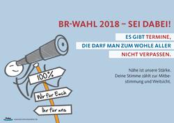 Wahlplakate für die Betriebsratswahl - Betriebsratswahlen