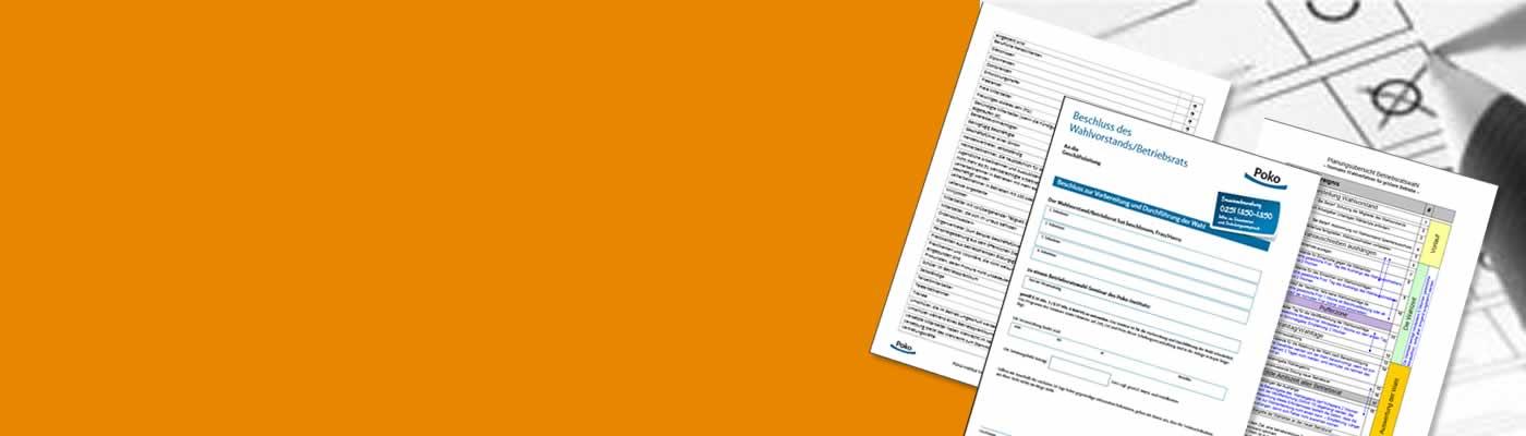 Musterformulare, Downloads und viele weitere Hilfsmittel für die BR-Wahl